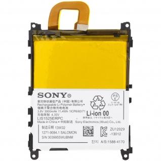3000 mAh Sony LIS1525ERPC Austausch-Akku für Sony Xperia Z1