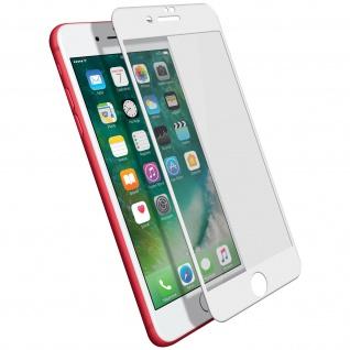 Displayschutzfolie, 9H 11D Schutzfolie für Apple iPhone 7 Plus / 8 Plus Weiß