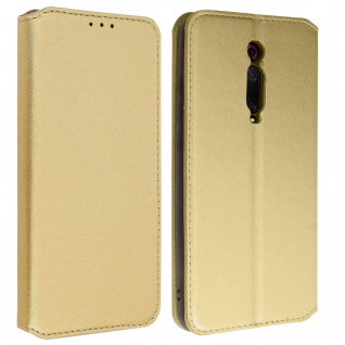 Kunstleder Cover Classic Edition Xiaomi Mi 9T - Gold