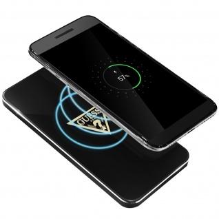 QI- induktives Ladegerät 1A Glossy Guess Smartphones Ladegerät - Schwarz