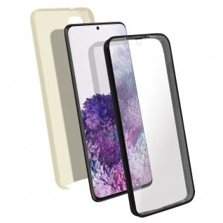 Schutzhülle für Samsung Galaxy S20 Plus, Vorder- + Rückseite ? Gold