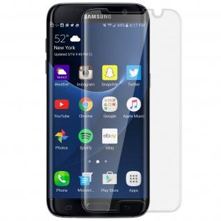 Displayschutzfolie mit abgerundeten Kanten Samsung Galaxy S7 Edge - Transparent