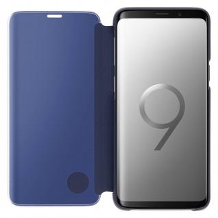 Original Samsung Clear View Standing Cover für Samsung Galaxy S9 - Blau - Vorschau 4