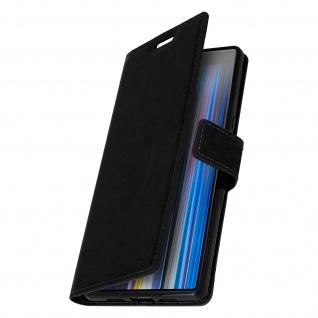 Flip Stand Cover Brieftasche & Standfunktion für Sony Xperia 10 - Schwarz - Vorschau 2