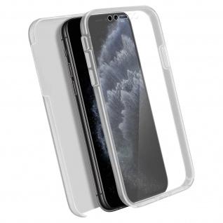 Schutzhülle für Apple iPhone 11 Pro, Vorder- + Rückseite ? Transparent
