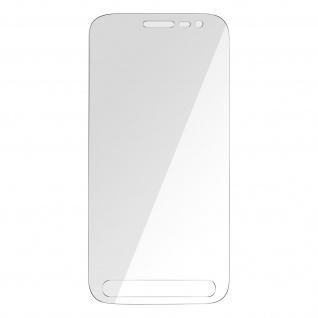 Samsung Galaxy Xcover 4 / 4s 3mk flexible Schutzfolie aus 7H Glas, transparent