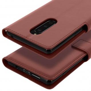 Flip Stand Cover Brieftasche & Standfunktion für Sony Xperia 1 - Braun - Vorschau 5