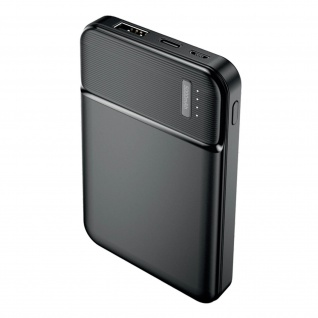 Maxlife 10.000mAh Powerbank mit 2.4A USB-Anschluss � Schwarz