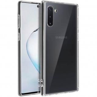 Crystal Schutzhülle + Bumper cover für Samsung Galaxy Note 10 â€? Transparent