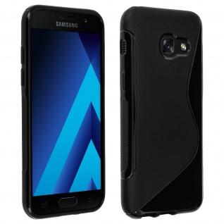 Samsung Galaxy A5 2017 Schutzhülle aus Silikon S-Line - Schwarz