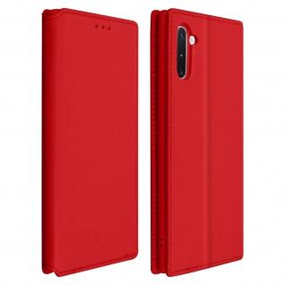 Kunstleder Cover Classic Edition Samsung Galaxy Note 10 - Rot - Vorschau 1