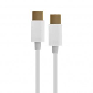 USB-C Lade- und Synchronisationskabel, 1 m - Weiß