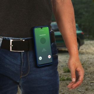Stoßfeste Handyhülle Samsung Galaxy A51, mit Gürtelclip und Ständer ? Grün - Vorschau 5