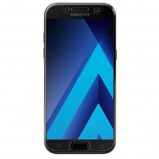 Samsung Galaxy A3 2017 Display- Rückseite Schutzfolien mit abgerundeten Kanten