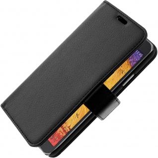 Flip-Schutzhülle mit Standfunktion für Samsung Galaxy Note 3 Lite - Schwarz