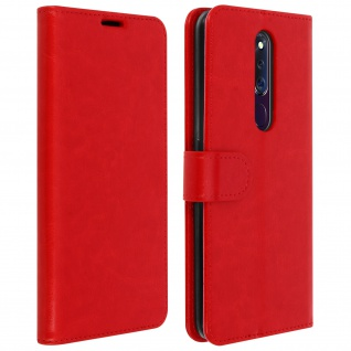 Flip Stand Case Brieftasche & Standfunktion Oppo F11 Pro - Rot