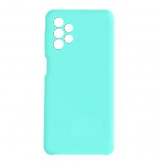Venus Series halbsteife Soft-Touch Silikonhülle für Samsung A32 5G ? Türkisblau