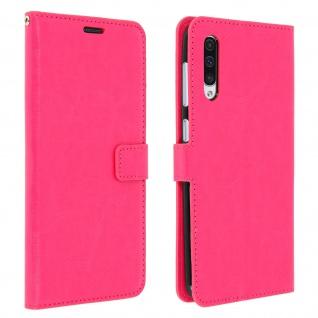 Flip Stand Cover Brieftasche & Standfunktion für Samsung Galaxy A50 - Rosa