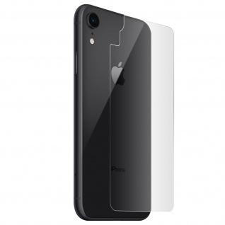 Apple iPhone XR flexible Schutzfolie, kratzfeste Rückschutzfolie - Transparent