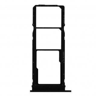 2x SIM + 1x Micro-SD Kartenhalter Ersatzteil für Samsung Galaxy A71 ? Schwarz