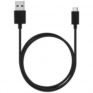 Original Sony USB-Typ C/ Micro-USB Kabel - Aufladen & Synchronisierung - Schwarz - Vorschau 2
