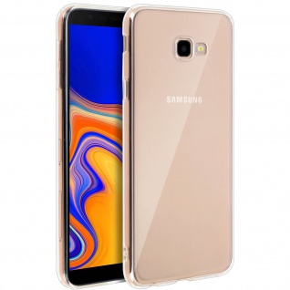 Samsung Galaxy J4 Plus Schutzhülle Backcover Silikon by Akashi - Transparent