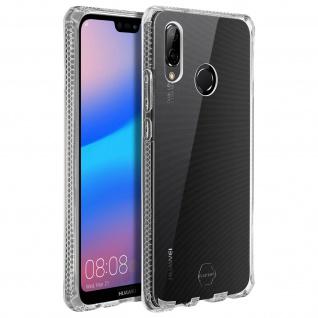 Stoßfeste Schutzhülle aus Silikon, Backcover Huawei P20 Lite - Transparent