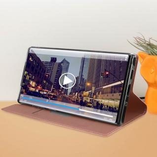Klappetui mit Kartenfach & Standfunktion Samsung Galaxy Note 10 - Rosegold - Vorschau 3