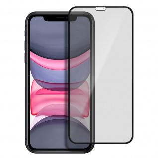 iPhone 11 3mk flexible stoßfeste Schutzfolie aus 7H Panzerglas, transparent