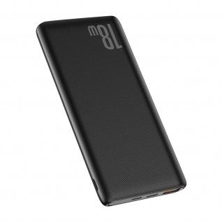 Powerbank 10000mAh USB-C Power Delivery 18W + USB Quick Charge, Baseus - Schwarz