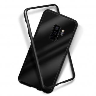 Samsung Galaxy S9 Plus Bumper magnetische Hülle - Schwarz