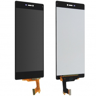 LCD Komplettset Huawei P8 + Touchscreen - Schwarz