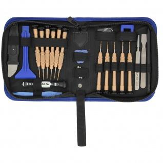 Universal Werkzeuge-Set für Repataturen von Geräten - 24 Stk. - Schwarz