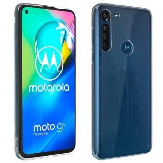 Motorola Moto G8 Power Schutzhülle Silikon Second Skin - Transparent