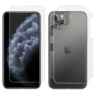 Antibakterielle 360° Rundumschutzfolie für Apple iPhone 11 Pro Max ? Transparent