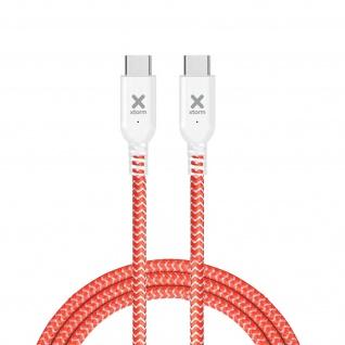 Xtorm Original Red Kabel, USB-C / USB-C Power Delivery, 2.5m - Orange