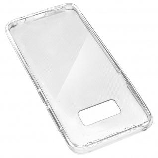 Samsung Galaxy S8 Rundumschutz Vorder- Rückseite - 360° Schutz + Touchscreen