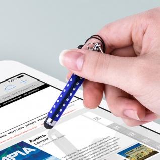 Ausziehbarer Eingabestift für Touchscreen 3.5 Klinkenstecker ? Blau - Vorschau 5