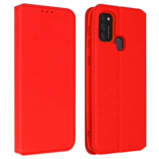 Kunstleder Cover Classic Edition Samsung Galaxy M21 / M31 / M30s ? Rot