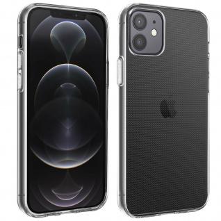 Gelhülle, Backcover für Apple iPhone 12 / 12 Pro, frosted case ? Transparent
