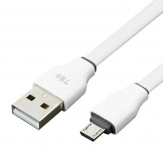 USB auf Micro-USB Kabel Aufladen & Synchronisieren 3M - Weiß