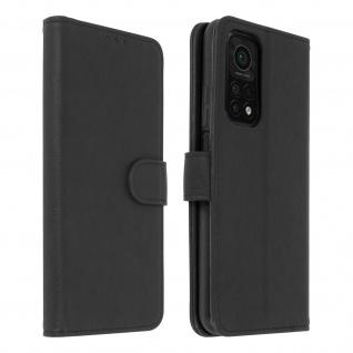 Flip Cover Geldbörse, Etui Kunstleder für Xiaomi Mi 10T / Mi 10T Pro ? Schwarz