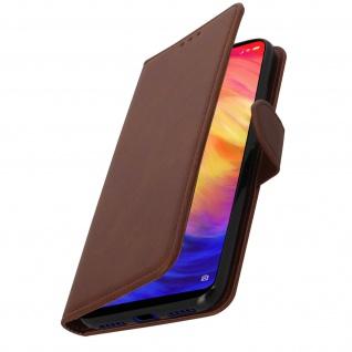 Buffalo Kunstlederetui Xiaomi Redmi 7, Standfunktion & Kartenfächer - Braun - Vorschau 2