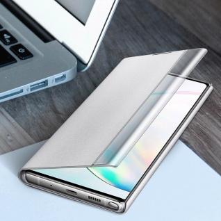 Original Samsung Clear View Cover für Samsung Galaxy Note 10 Plus - Weiß - Vorschau 4