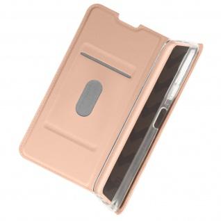 Klappetui mit Kartenfach & Standfunktion Nokia 8.3 5G ? Rosegold