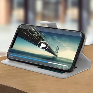 Flip Stand Cover Brieftasche & Standfunktion Apple iPhone XS Max - Weiß - Vorschau 3