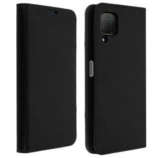 Business Leder Cover, Schutzhülle mit Geldbörse Huawei P40 Lite - Schwarz