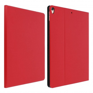 Hülle iPad Air 2019 & iPad Pro 10, 5 Folio-Case Video-Support Glatte Optik - Rot