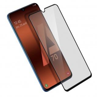 9H Härtegrad kratzfeste Glas-Displayschutzfolie für Galaxy A70 - Schwarz