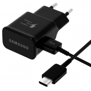 Samsung EP-TA20 Wand Ladegerät 1.67A + USB-Typ C Ladekabel Samsung - Weiß
